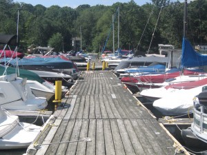 Marina on Lake Hopatcong